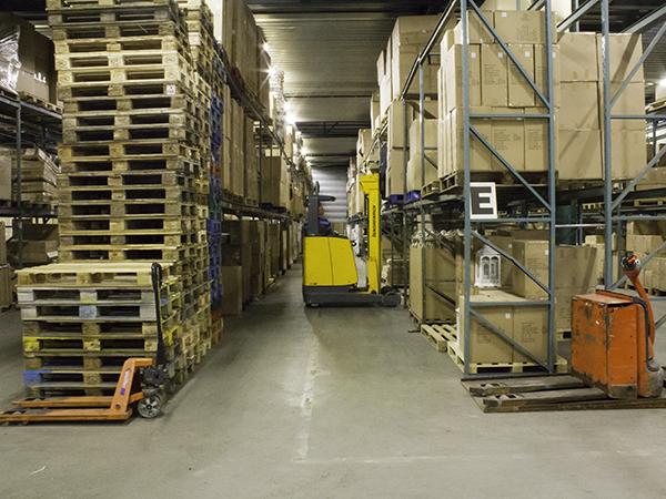 Warehousing IJzerman transport